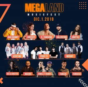 artistas Megaland